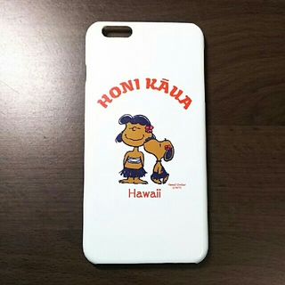 a3740e6fd1 ピーナッツ(PEANUTS)の日焼けスヌーピー iphone6plusケース USED ハワイ限定(iPhoneケース)