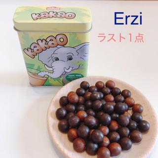 Erzi缶入りココア【廃盤】木のおもちゃ 木のおままごと