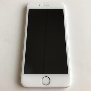 iPhone - iphone6 64GB シルバー docomo iFaceカバー付き