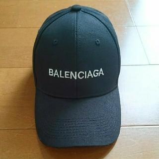 Balenciaga - 中古 BALENCIAGA キャップ 黒 帽子
