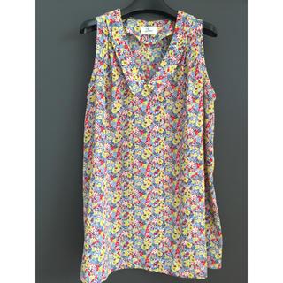 ドアーズ(DOORS / URBAN RESEARCH)のアーバンリサーチドアーズ 花柄ノースリ(Tシャツ(半袖/袖なし))
