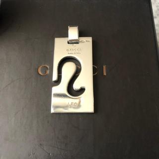 グッチ(Gucci)のグッチ ネックレス トップ レオ 獅子座(ネックレス)
