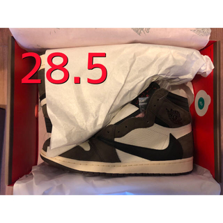 NIKE - NIKE air  jordan1 travis scott 28.5