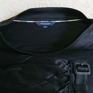 バーバリー(BURBERRY)のバーバリーカットソー 黒(Tシャツ/カットソー(七分/長袖))