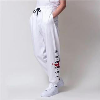 NIKE - 新品 タグ付き ナイキ ジョーダン ジャンプマン スウェットパンツ 白 XL