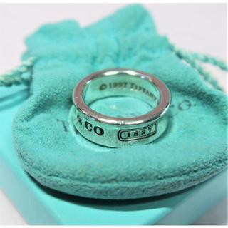 ティファニー(Tiffany & Co.)のティファニー リング シルバー T&CO 1837 サイズ10.5(リング(指輪))