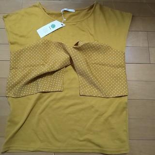 イッカ(ikka)の新品、未使用 カットソー ikka(カットソー(半袖/袖なし))