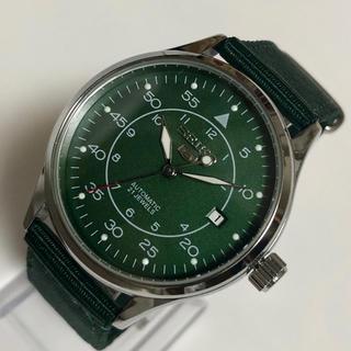 SEIKO - セイコー SEIKO 5 自動巻き メンズ腕時計 新品未使用品 緑
