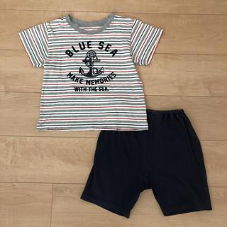 ニシマツヤ(西松屋)の【難有り】パジャマ 半袖 110 男の子 西松屋(パジャマ)