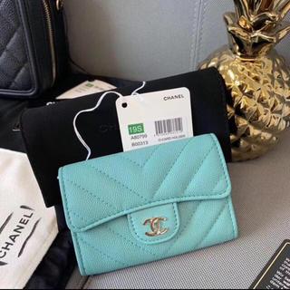 CHANEL -  新品未着用❣️正規CHANELコイン&カードケース 今月海外直営店購入