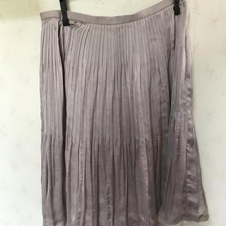 ソワール(SOIR)の東京ソワール  プリーツスカート(ひざ丈スカート)
