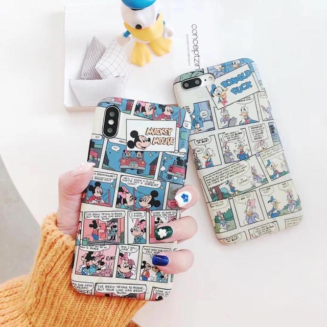 iphoneカバー人気ブランド - Disney - iPhoneケース✨ミッキー✨ドナルド✨ソフトケースの通販 by kinaphone|ディズニーならラクマ