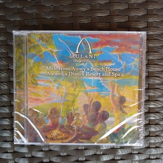 ディズニー(Disney)のアウラニ 限定  ハワイアンミュージック CD ディズニー ハワイ(ヒーリング/ニューエイジ)