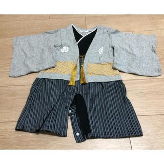 6a76efdcd6101 袴カバーオール 80(和服 着物)