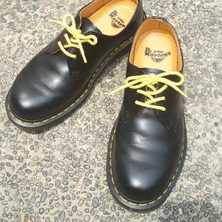 ドクターマーチン(Dr.Martens)のDr.Martens ドクターマーチン 3ホール 黒 代えひも付き(ローファー/革靴)