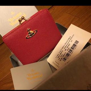 ヴィヴィアンウエストウッド(Vivienne Westwood)のVivienne Westwood 二つ折り財布 ピンク 新品未使用(財布)