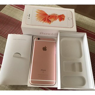 iPhone - iPhone6S 64GB SIMフリー 中古品 MKQR2J/A 判定○