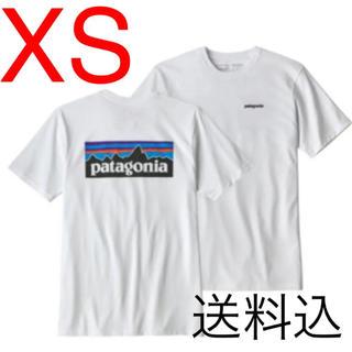 patagonia - 値下げ★ パタゴニア P-6ロゴtシャツ 白 ホワイト xs patagonia