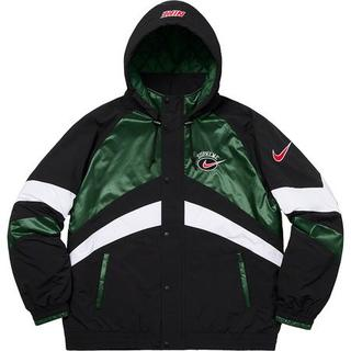 Supreme - L Supreme Nike Hooded Sport Jacket Green