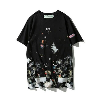 OFF-WHITE - ★人気新品2019★ OFF WHITE Tシャツ 男女兼用