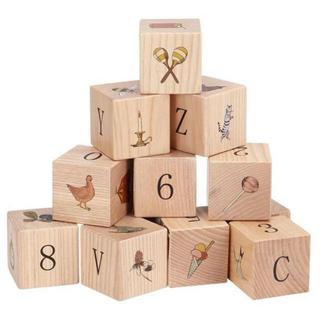 Caramel baby&child  - 新品✦Konges Sloejd  木製ブロック 積み木 16ピース