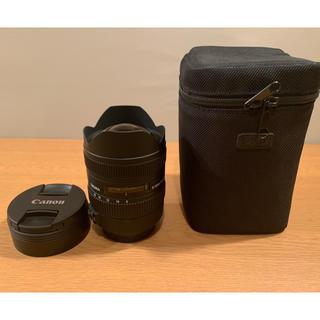 シグマ(SIGMA)の超美品SIGMA 8-16mm F4.5-5.6 DC HSM CANON用(レンズ(ズーム))