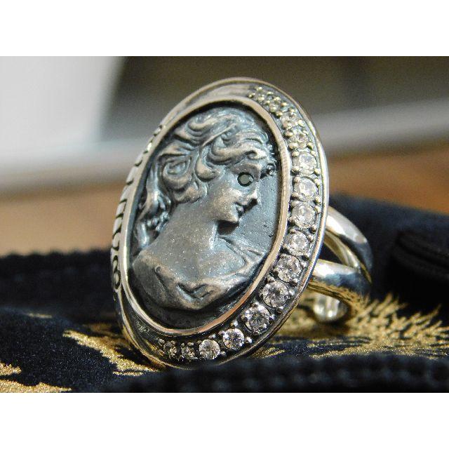 新品 セインツ SAINTS 女神シルバーリング 17号 リング 指輪 メンズのアクセサリー(リング(指輪))の商品写真