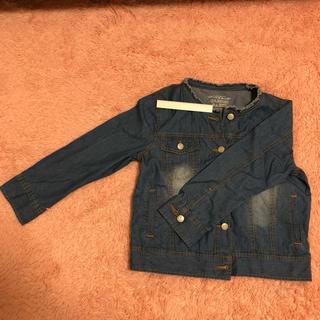ナイスクラップ(NICE CLAUP)のデニムジャケット 身丈52cm(Gジャン/デニムジャケット)