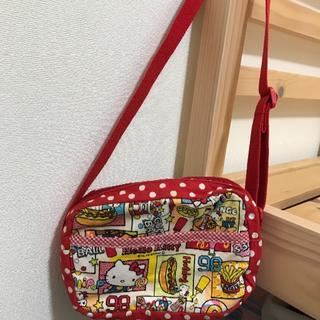 ハローキティ(ハローキティ)のキティーちゃん♡ショルダーバッグ  女児   中古品(ポシェット)