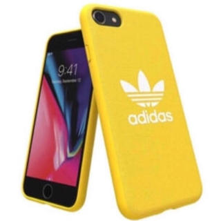 アディダス(adidas)のadidas iPhoneケース黄色(iPhoneケース)