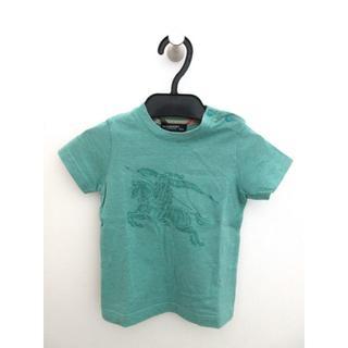 バーバリー(BURBERRY)のバーバリー ロンドン Tシャツ キッズ コットン ホースプリント 緑 80(Tシャツ)