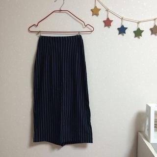 フレイアイディー(FRAY I.D)のストライプタイトスカート(ロングスカート)