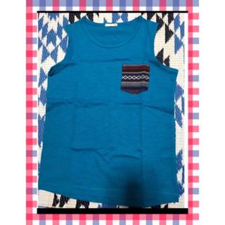 ジーユー(GU)のGUタンクトップ 150cm【新品未使用】(Tシャツ/カットソー)