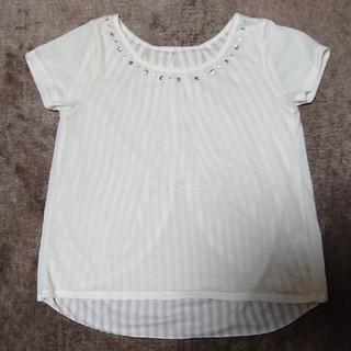 ジーユー(GU)のGU トップス S(カットソー(半袖/袖なし))