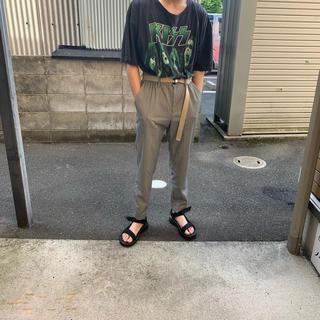 ジーユー(GU)のGU チェックパンツ スラックス 美品(スラックス)