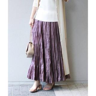 新品タグ付 2019SS MARIHA 草原の虹のスカート NOBLE別注