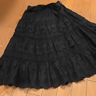JaneMarple - 美品 ジェーンマープル Jane Marple アイレットレース スカート
