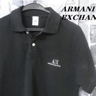 ARMANI EXCHANGE - 大人気★アルマーニエクスチェンジ★ロゴ入りポロシャツ★サイズM