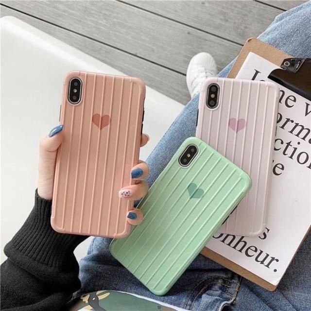 iPhoneケース ハート 韓国 スマホケース アイフォンケース おしゃれ の通販 by A's shop|ラクマ