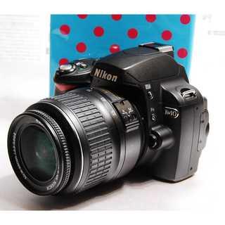 ★★Wi-Fi対応 簡単一眼 Nikon D40 レンズキット