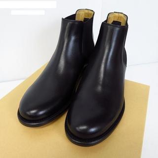 アーペーセー(A.P.C)の【新品】A.P.C. レザーサイドゴアブーツ 40(ブーツ)