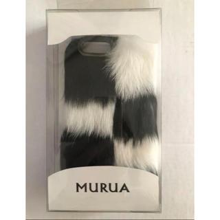 ムルーア(MURUA)のMURUA iPhonecase 新品未使用(iPhoneケース)