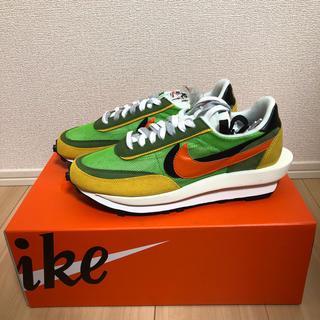 NIKE - 【新品未使用】【27.5cm】Nike Sacai LDWaffle グリーン