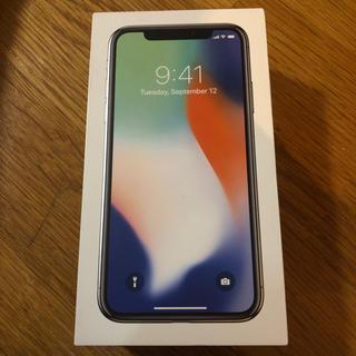 iPhone X 256GB simフリー silver