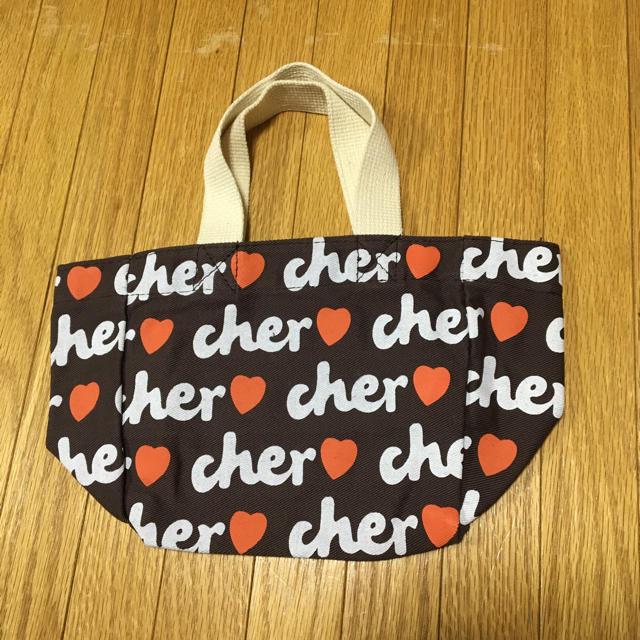 Cher(シェル)のcher トートバッグ  ミニバッグ シェル トートバッグ レディースのバッグ(トートバッグ)の商品写真