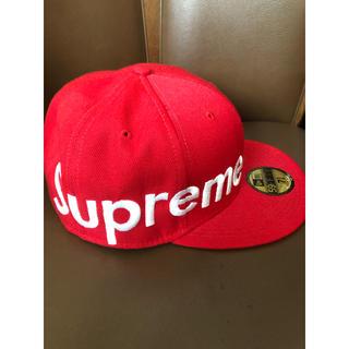 Supreme - Supreme sidelogo New era Cap side logo