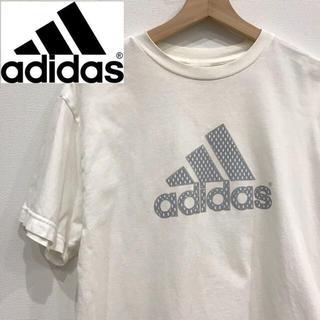 アディダス(adidas)のadidas アディダス  シルバーロゴ Tシャツ(Tシャツ/カットソー(半袖/袖なし))