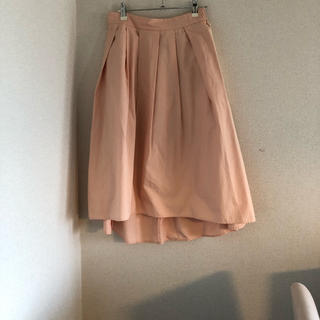 ジーユー(GU)のボリューム♡フレアスカート(ひざ丈スカート)