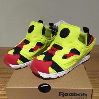 Reebok - 【新品 14㎝】リーボック ポンプフューリー  シトロン