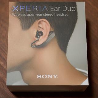 ソニー(SONY)のワイヤレスイヤホン Xperia Ear Duo (ブラック) ※5年保証付き(ヘッドフォン/イヤフォン)